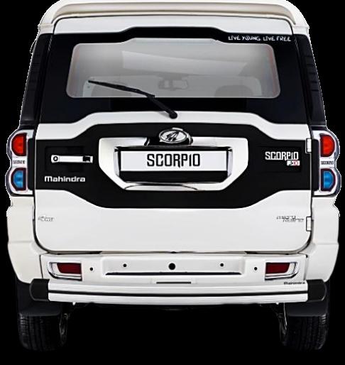 Scorpio Aluminum rear guard
